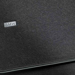 Велюровые напольные коврики для задней части салона BMW F07 GT 5 серия, Avenue, Anthracite