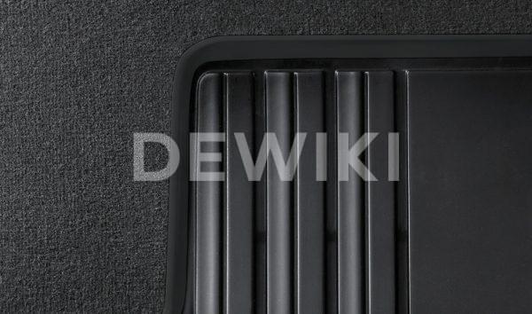 Резиновые задние коврики BMW F45 2 серия, Black