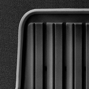 Резиновые задние коврики BMW F20 1 серия, Black/Grey