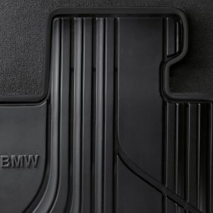 Резиновые передние коврики BMW F30/F31/F34/F80 3 серия, Basis