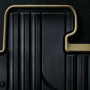 Резиновые передние коврики BMW F45/F46 2 серия, Anthracite/Biege