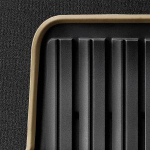 Резиновые задние коврики BMW F46 2 серия, Anthracite/Beige