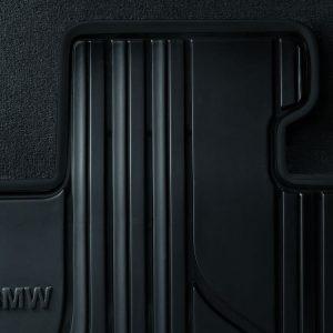 Резиновые передние коврики BMW E90/E91/E92 3 серия, Black Anthrazit