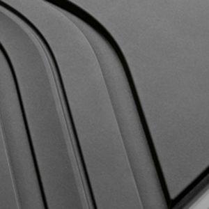 Резиновые задние коврики BMW E90/E91 3 серия, Anthracite