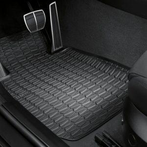 Резиновые передние коврики BMW X1 E84 S Drive, Anthracite