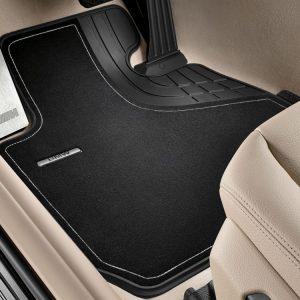 Велюровые передние коврики BMW F30/F31/F34/F80 3 серия, Luxury