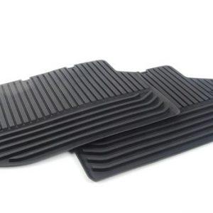 Резиновые задние коврики BMW F10/F11 5 серия, Black
