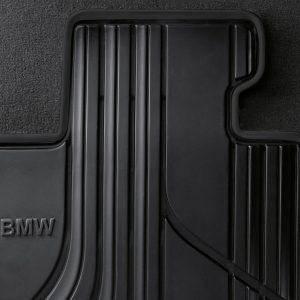Резиновые передние коврики BMW F32/F36/F33/F83/F82 4 серия, Basis, Anthracite