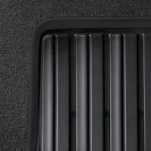 Резиновые задние коврики BMW F33/F83 4 серия, Basis Black