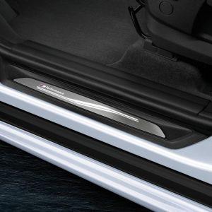 Накладки на пороги BMW M Performance со светодиодной подсветкой, X1, 1,2,3 и 4 серия