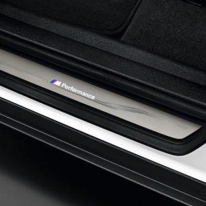 Накладки на пороги BMW M Performance со светодиодной подсветкой, F25/F26 X3 и X4