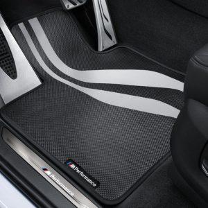 Текстильные передние коврики M Performance BMW F10/F11 5 серия