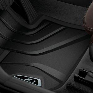 Резиновые передние коврики BMW F48 X1, X Line