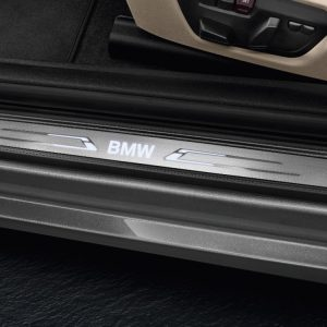 Накладки на пороги BMW со светодиодной подсветкой, F33/F83 4 серия