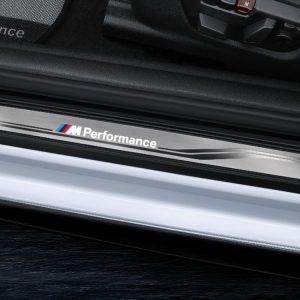 Накладки на пороги BMW M Performance со светодиодной подсветкой, F33/F84 4 серия