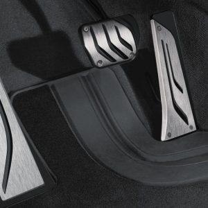 Подставка для левой ноги из нержавеющей стали BMW M Performance 1,2,3 и 4 серия