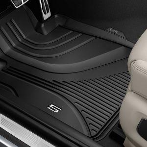 Резиновые передние коврики BMW G30/G31 5 серия, Black