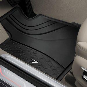 Резиновые передние коврики BMW G11/G12 7 серия, Black