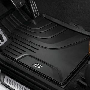 Резиновые передние коврики BMW G32 6 серия, Black