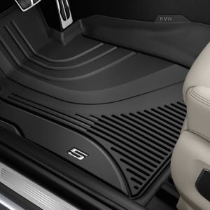 Резиновые передние коврики высокие BMW G30/G31 5 серия