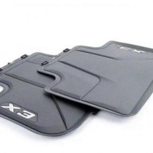 Резиновые задние коврики BMW G01 X3