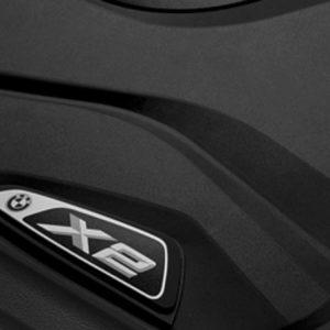 Резиновые задние коврики BMW F39 X2, Basis