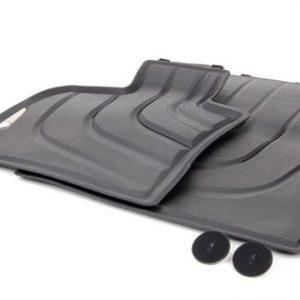 Резиновые передние коврики BMW F16/F15