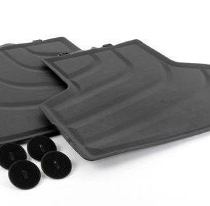 Резиновые задние коврики BMW F16 X6