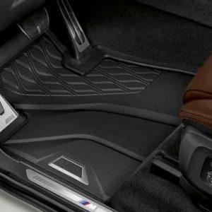 Резиновые передние коврики BMW X5 G05/ X7 G07/ X6 G06, Anthracite