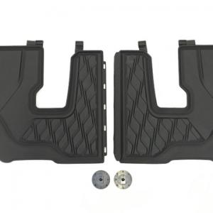Резиновые  коврики для 3-го ряда 6 мест BMW X7 G07, Anthracite