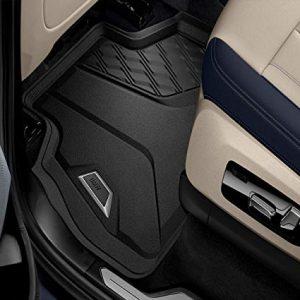 Резиновые задние коврики высокие BMW X7 G07, Anthracite
