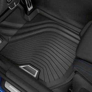 Резиновые передние коврики BMW G20 3 серия, Anthracite