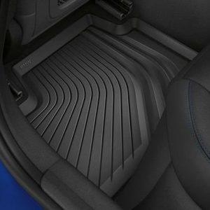 Резиновые задние коврики высокие BMW G20 3 серия, Anthracite