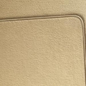 Комплект велюровых ковриков в салон BMW F10 / F11, Бежевые