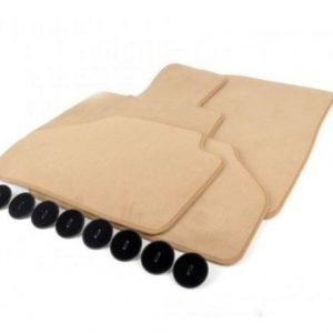 Комплект велюровых ковриков в салон BMW G30 5 серия, Biege