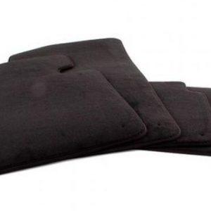 Комплект велюровых ковриков в салон BMW G30 5 серия, Black