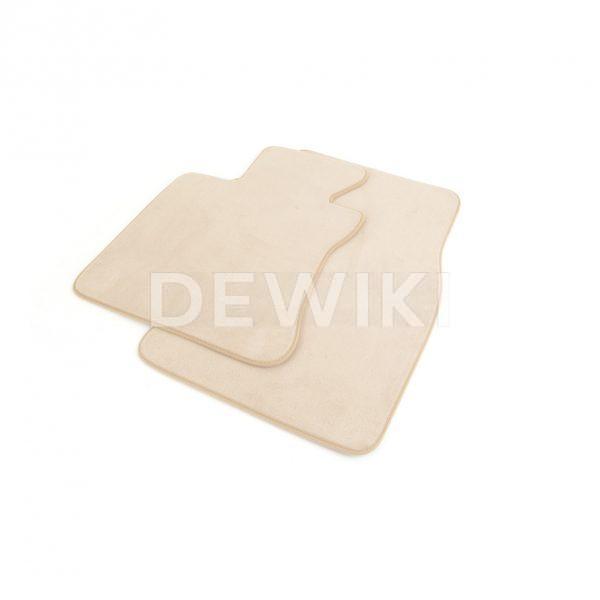 Комплект велюровых ковриков в салон BMW E63 6 серия, Cream Beige