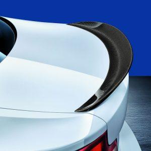 Задний карбоновый спойлер BMW M Performance F22/F87 2 серия и M2