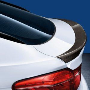 Задний карбоновый спойлер BMW M Performance F16 X6