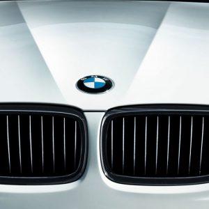 Передняя левая решетка радиатора BMW M Performance E90/E91 3 серия, Black