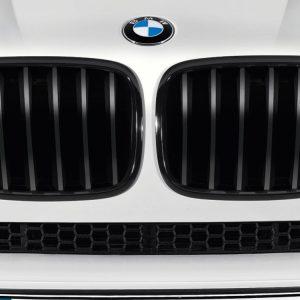 Передняя правая решетка радиатора BMW M Performance E70/E71/E72 X5 и X6, Black