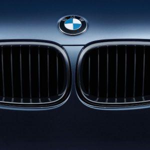 Передняя правая решетка радиатора BMW M Performance E60/E61 5 серия, Black