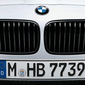 Передняя правая решетка радиатора BMW M Performance F10/F11 5 серия, Black