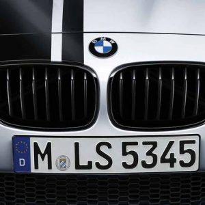 Передняя левая решетка радиатора BMW M Performance F21/F20 1 серия, Black