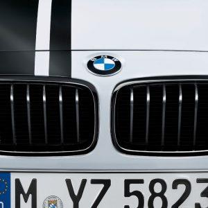 Передняя левая решетка радиатора BMW M Performance F30/F31 3 серия, Black