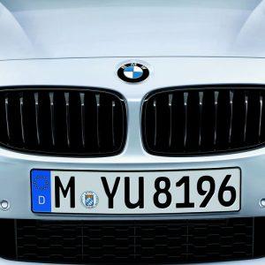 Передняя правая решетка радиатора BMW M Performance F32 4 серия, Black