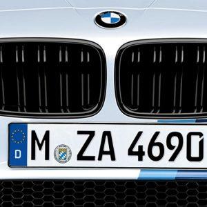 Передняя правая решетка радиатора BMW M Performance F10 M5, Black