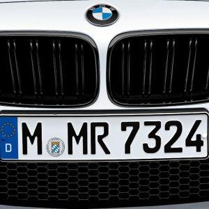 Передняя левая решетка радиатора BMW M Performance F12/F13/F06 M6, Black