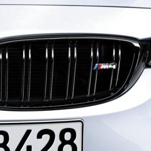 Передняя левая решетка радиатора BMW M Performance F82 M4, Black