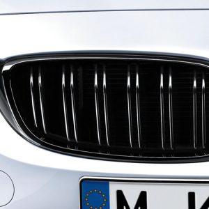 Передняя правая решетка радиатора BMW M Performance F80 M3 и M4, Black